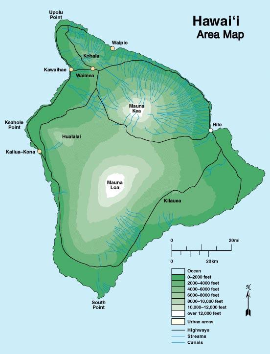 Hawai'i Island Maps – Lava Rock Realty