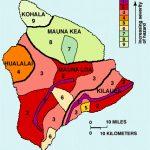Big Island Lava Flow Map