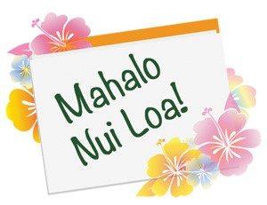"""Image featuring """"Mahalo Nui Loa"""""""